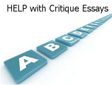Thesis critique paper